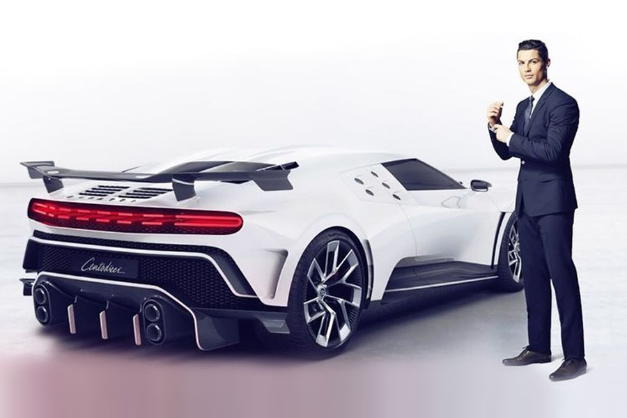 Cristiano Ronaldo Gets Himself a Limited Edition Bugatti Centodieci to Celebrate Juventus' Serie A Title Win 1