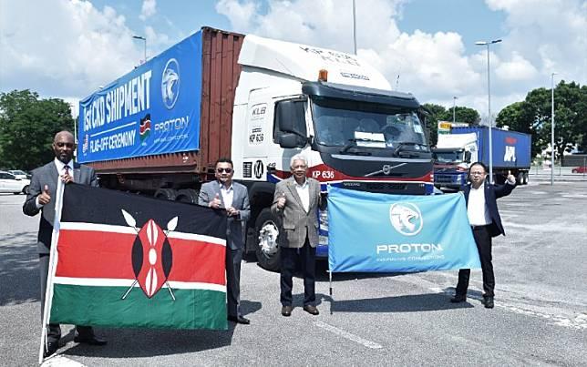 Proton Saga Reaches Kenya 2