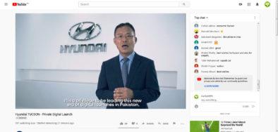 Hyundai-Nishat Unveils Tucson SUV in a Digital Event Online 6