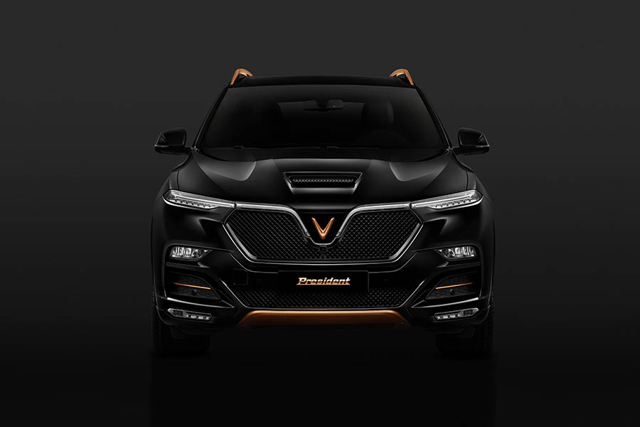VinFast Officially Reveals President SUV 5