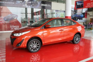 History: Toyota Yaris All Generations 31