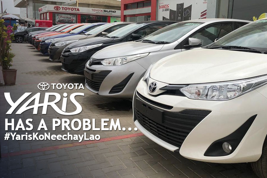 The Toyota Yaris has a Problem... 2
