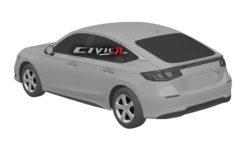 Next-Gen Honda Civic Hatchback Design Leaked In Trademark Filing 5