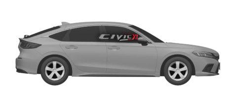 Next-Gen Honda Civic Hatchback Design Leaked In Trademark Filing 4