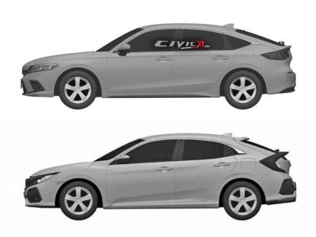 Next-Gen Honda Civic Hatchback Design Leaked In Trademark Filing 8