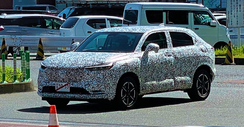 Next Generation Honda HR-V/ Vezel Spotted Testing in Japan 10