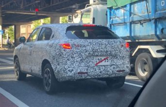 Next Generation Honda HR-V/ Vezel Spotted Testing in Japan 2