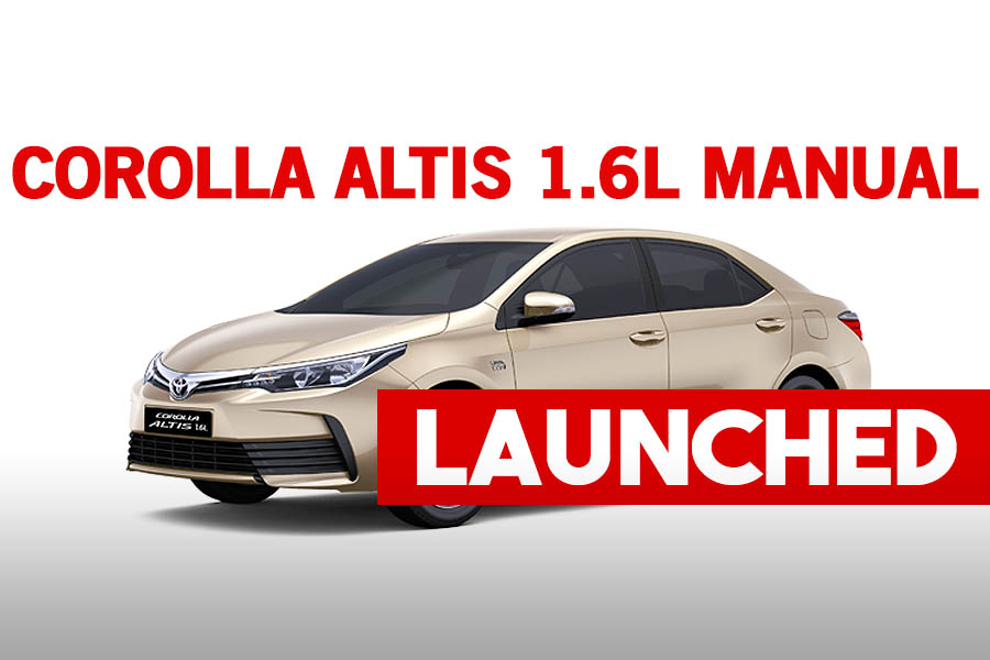 Toyota Corolla Altis 1.6L Manual Launched 8