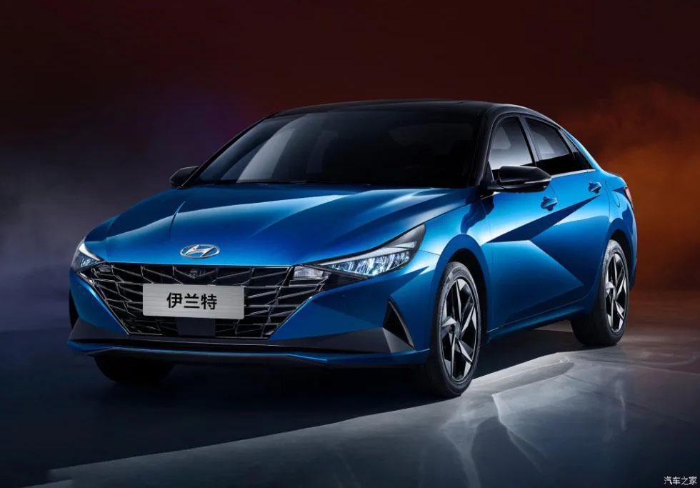 2021 Hyundai Elantra for Chinese Market Revealed 6