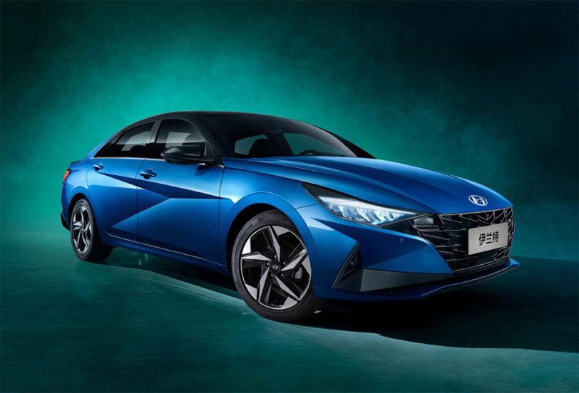 2021 Hyundai Elantra for Chinese Market Revealed 4