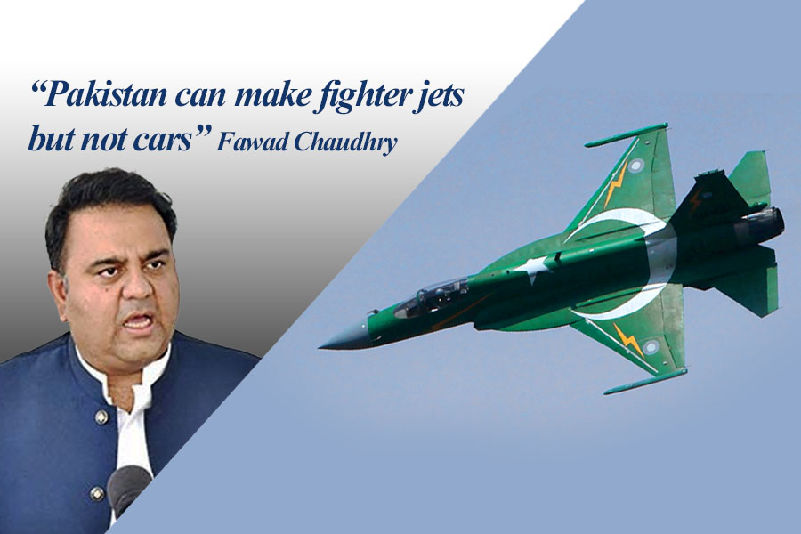 Pakistan Can Make Fighter Jets but Not Cars: Fawad Chaudhry 3