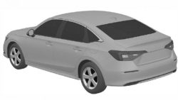 Next-Gen Honda Civic Sedan Leaked In Patent Images 4