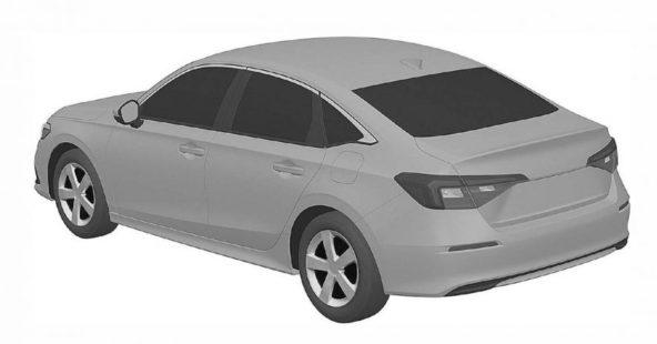 Next-Gen Honda Civic Sedan Leaked In Patent Images 4