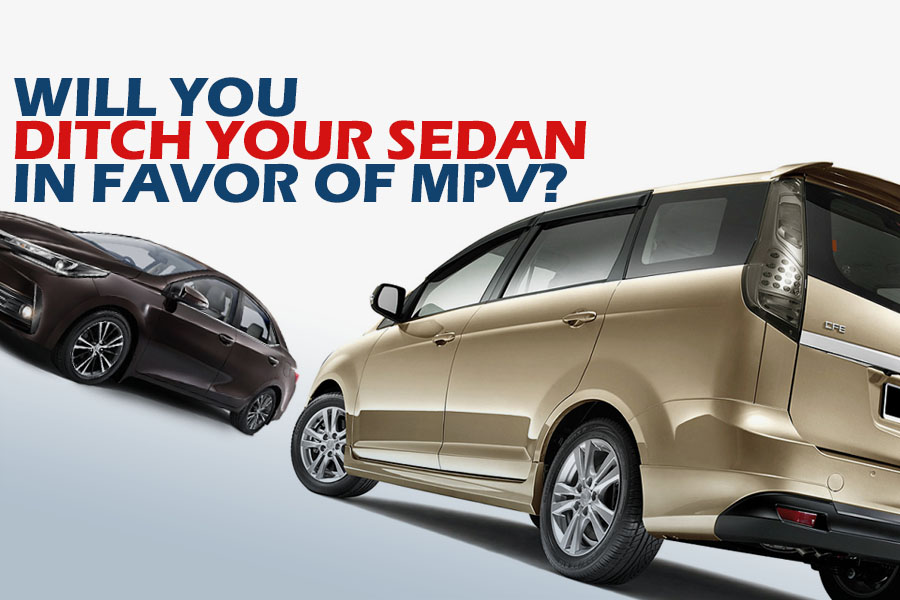 Will You Ditch Your Sedan in Favor of MPV? 1