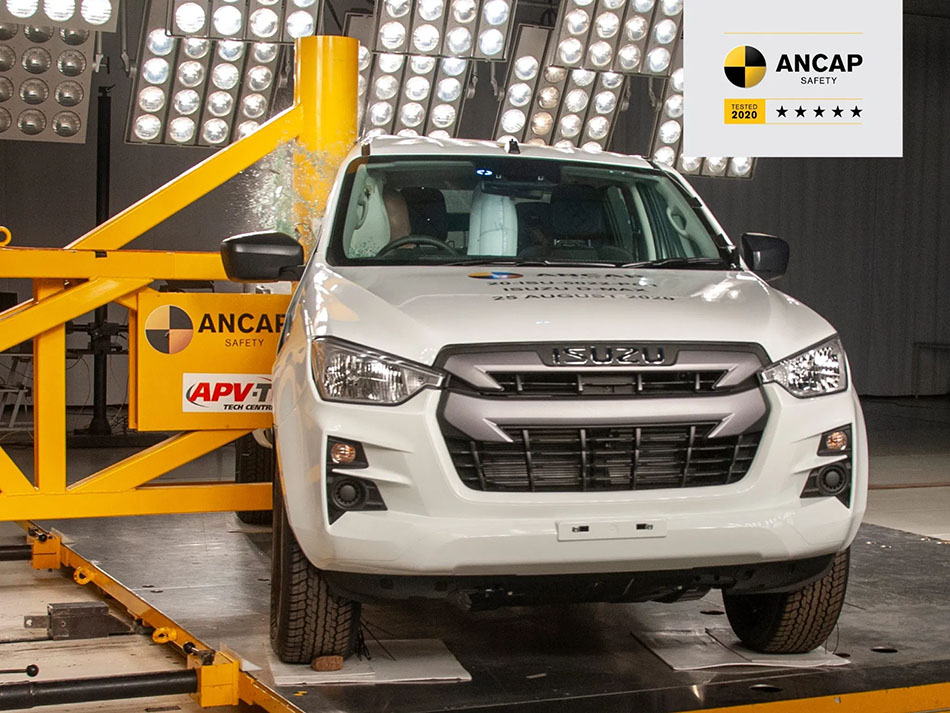 New Isuzu D-Max Gets 5 Stars in ANCAP Crash Tests 6