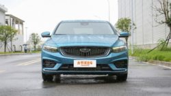 All New Geely Preface Sedan Debuts in China 14