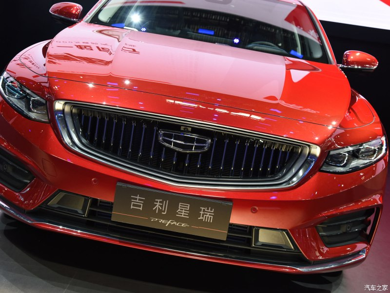All New Geely Preface Sedan Debuts in China 2