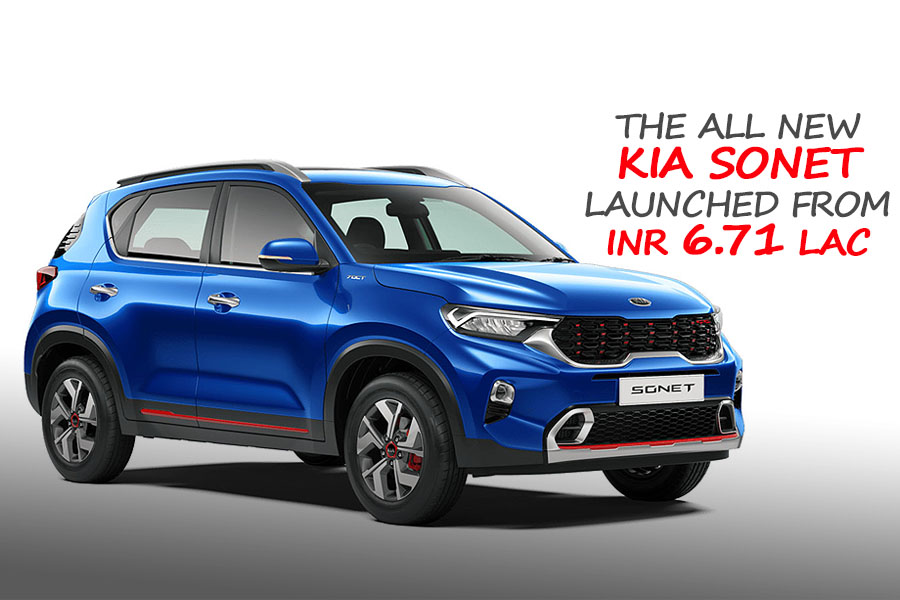 All New Kia Sonet Launched in India from INR 6.71 Lac 7