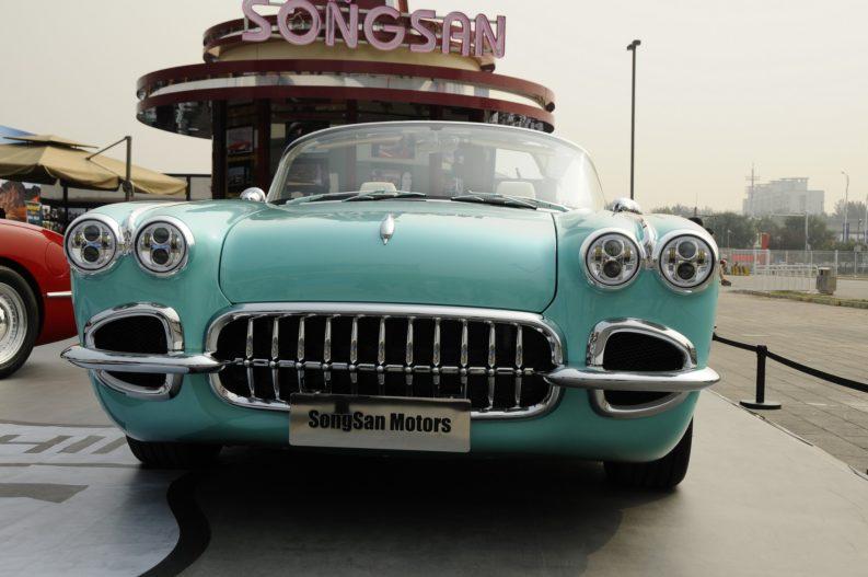 Songsan Dolphin- The Chevrolet Corvette Knockoff 2