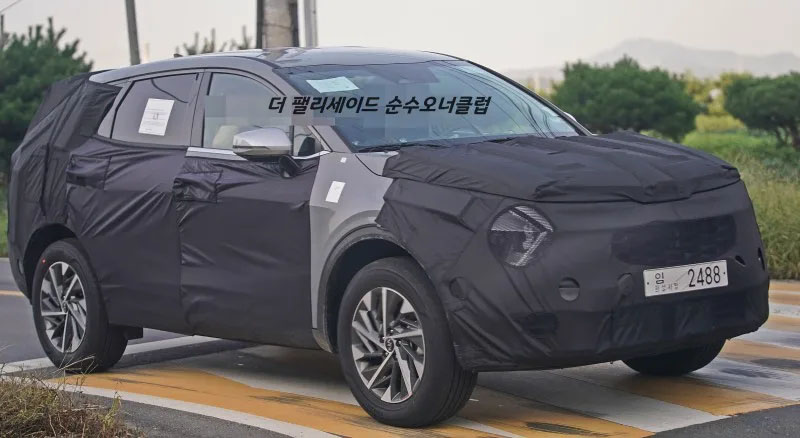 Next Generation Kia Sportage Spied 9