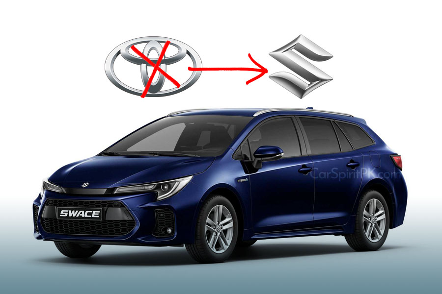 Corolla Estate-Based Suzuki Swace Debuts 4