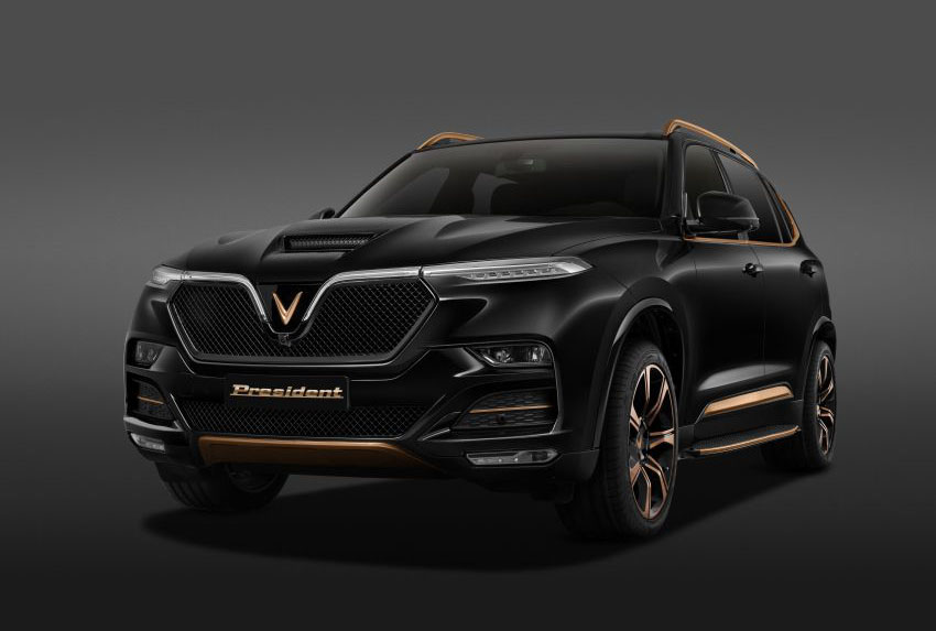 The Flagship VinFast President SUV Launched 5