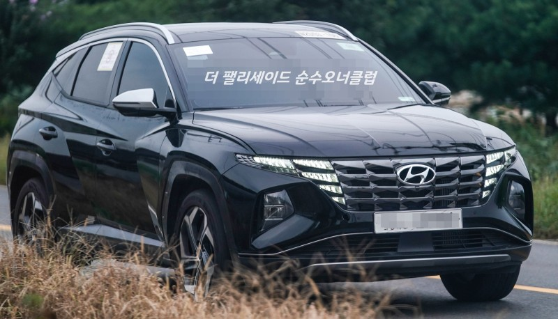Real World Pictures of the All New Hyundai Tucson 8