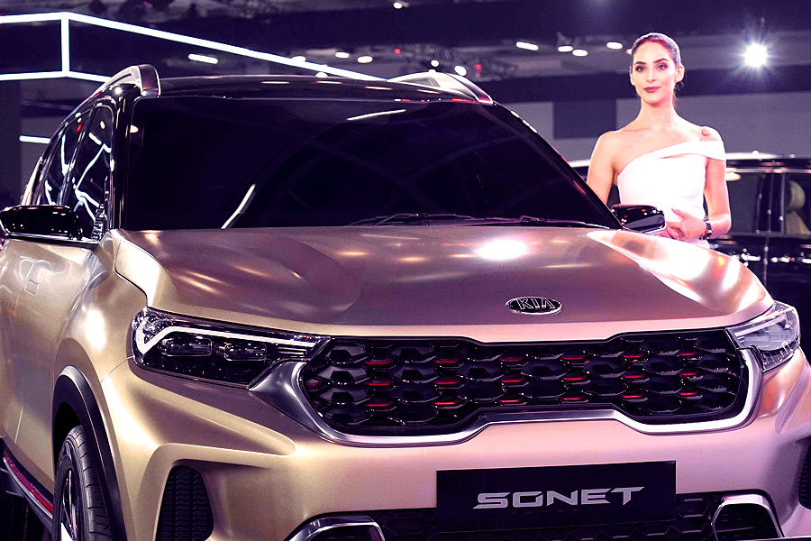 Kia Records Highest-Ever Sales in India Courtesy Sonet 5
