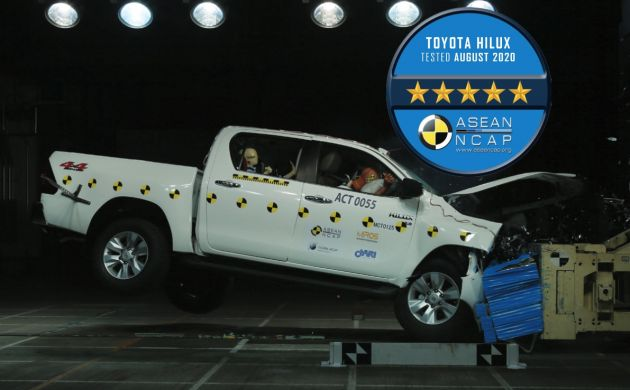 2020 Toyota Hilux Facelift & Fortuner Gets 5-Star ASEAN NCAP Rating 4
