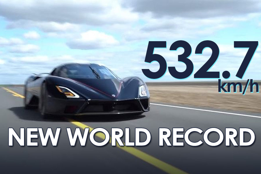 532.7 Km/h: SSC Tuatara is Officially World's Fastest Production Car 8