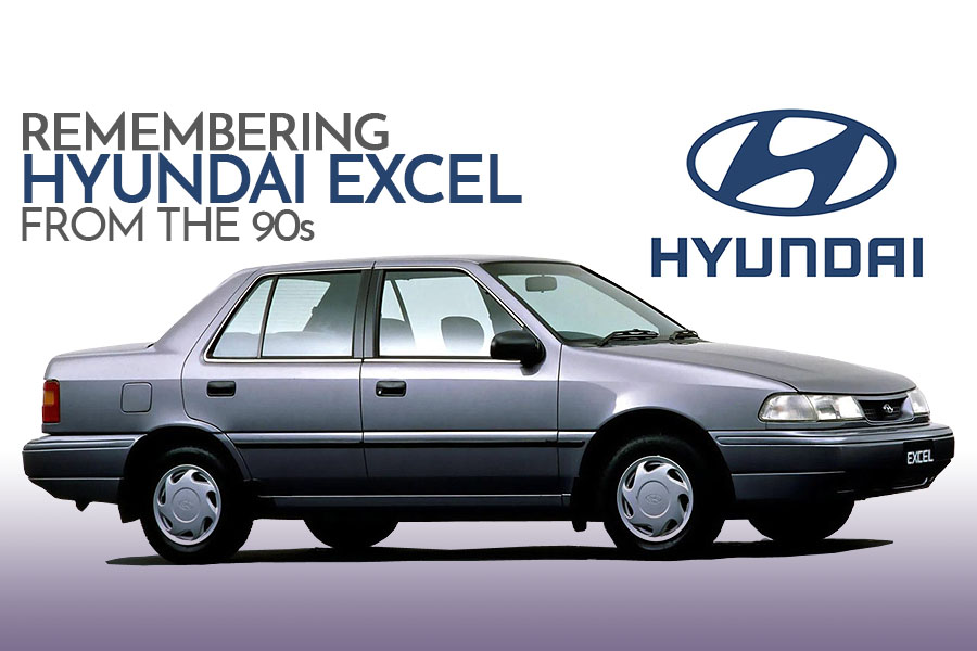 Remembering Hyundai Excel from the 90s 3