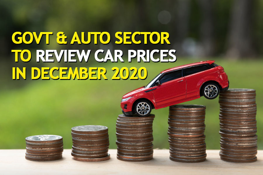 Govt & Auto Sector to Review Car Prices in December 2020 6