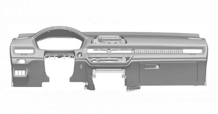 Next Gen Honda Civic Interior Patent Images Leaked 1