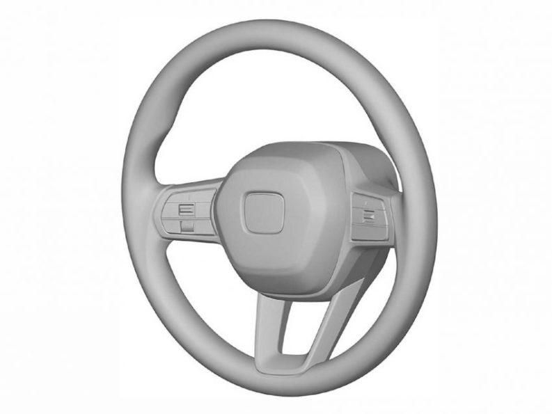 Next Gen Honda Civic Interior Patent Images Leaked 3