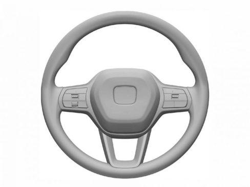 Next Gen Honda Civic Interior Patent Images Leaked 2