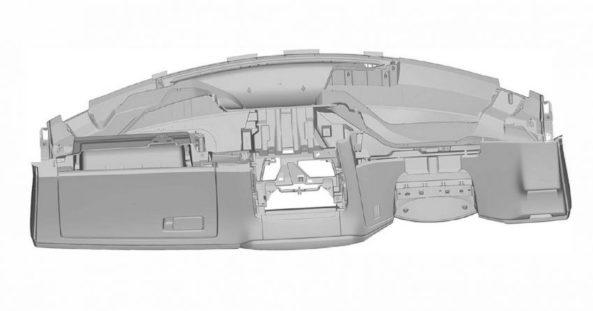 Next Gen Honda Civic Interior Patent Images Leaked 10