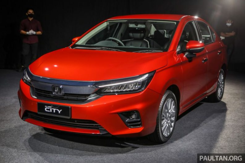 All New Honda City Sedan Launched in Malaysia 13