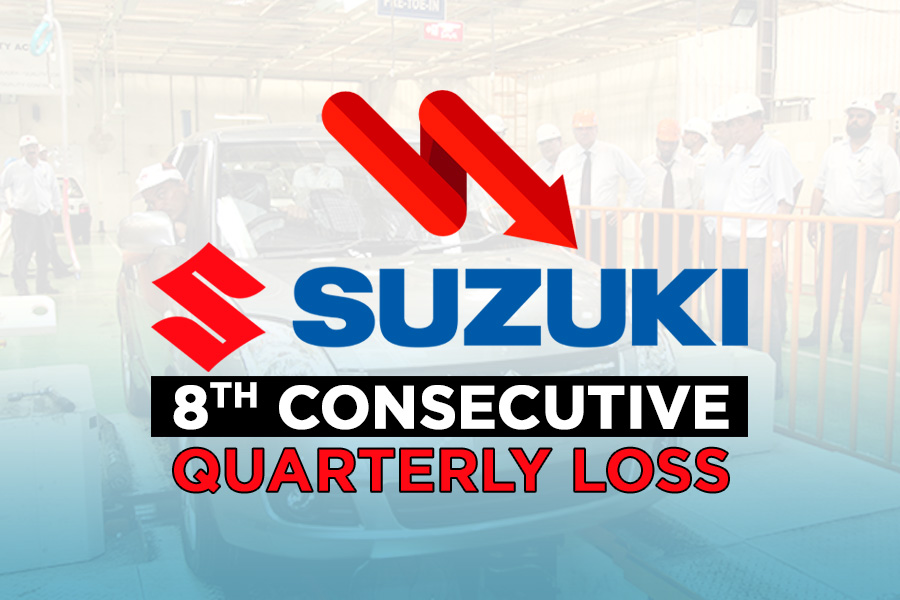 Pak Suzuki Reports 8th Consecutive Quarterly Loss 9