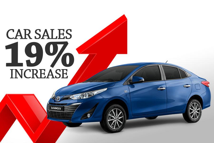 Car Sales Increased by 18% in September 10