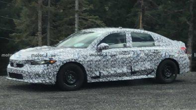 11th Gen Honda Civic Spied Again 3
