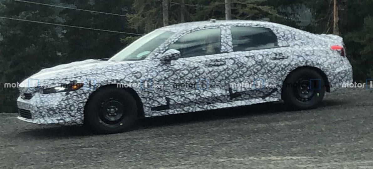 11th Gen Honda Civic Spied Again 4