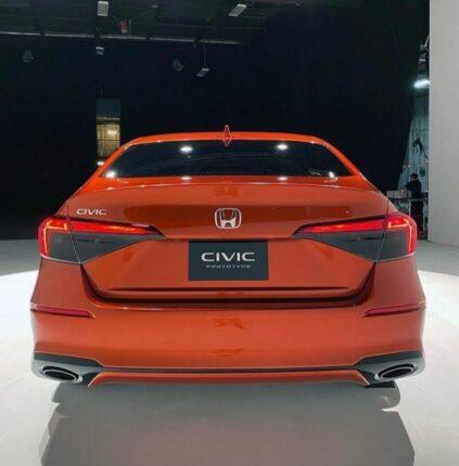 Production-Spec 2022 Honda Civic Leaked 9