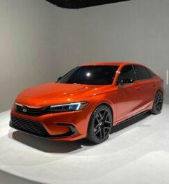 Production-Spec 2022 Honda Civic Leaked 7