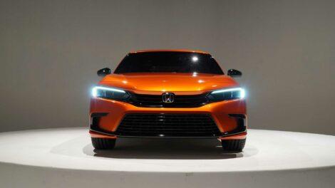 Production-Spec 2022 Honda Civic Leaked 6