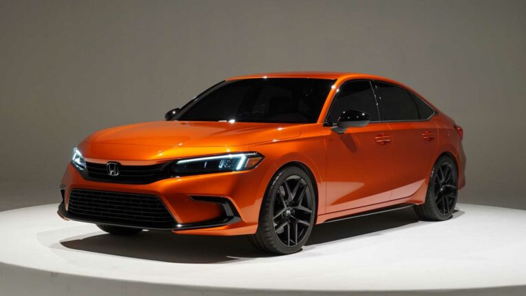 Production-Spec 2022 Honda Civic Leaked 10
