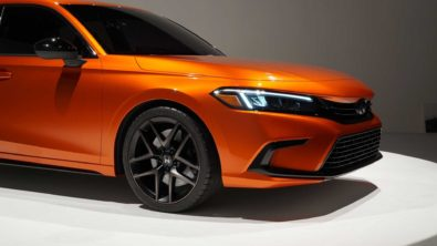 Visual Comparison: Honda Civic 10th Gen vs 11th Gen Prototype 20