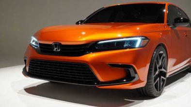 Visual Comparison: Honda Civic 10th Gen vs 11th Gen Prototype 17