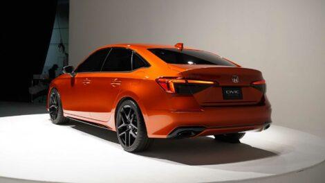Production-Spec 2022 Honda Civic Leaked 8
