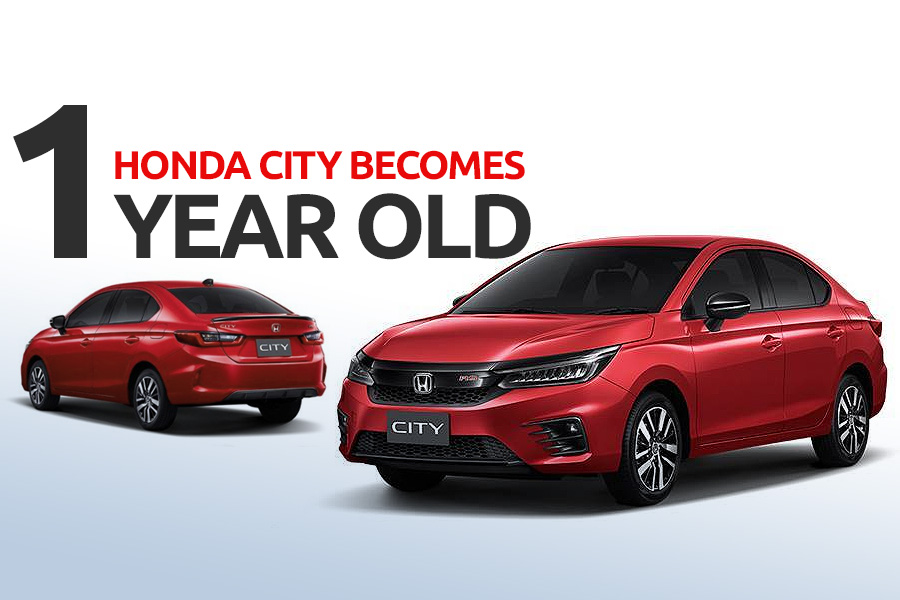 7th Gen Honda City Sedan Becomes 1 Year Old 6