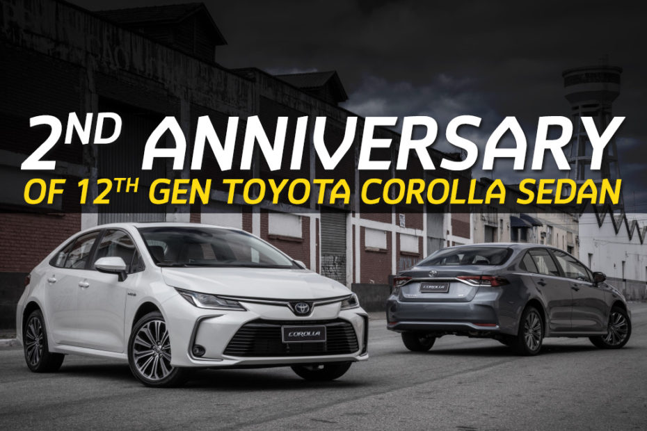 12th gen Toyota Corolla Becomes 2 Years Old 4